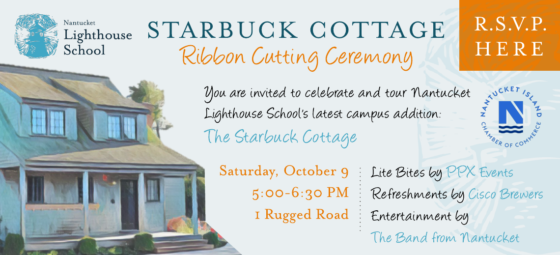 Starbuck Cottage Ribbon Cutting Ceremony